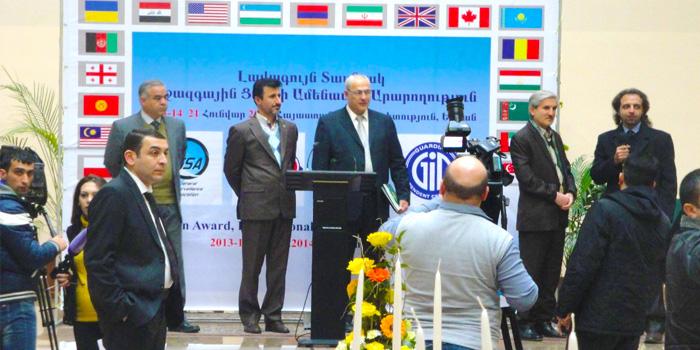برنده تندیس نقره ایی در منطقه اوراسیا-خدمات کالیبراسیون